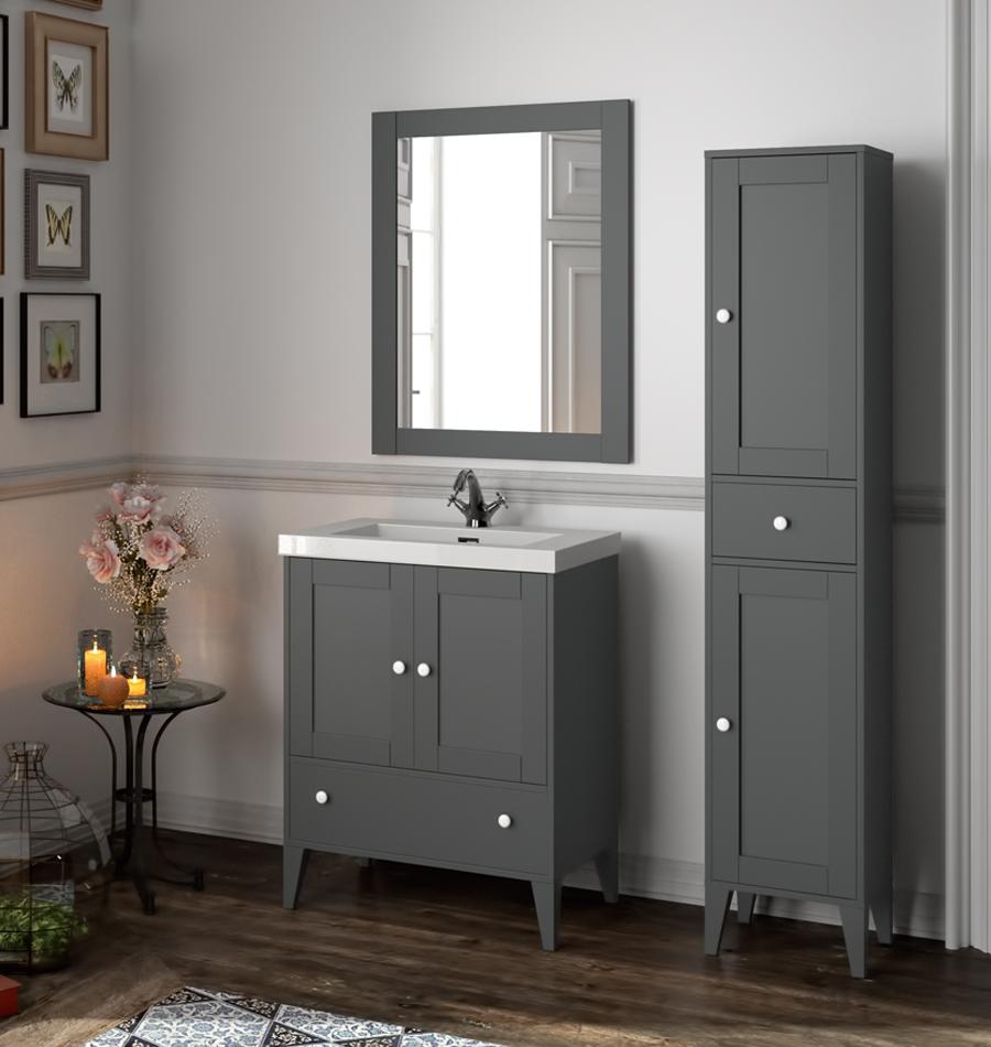 Conjunto de mueble de ba o de la marca salgar - Marcas de muebles de bano ...