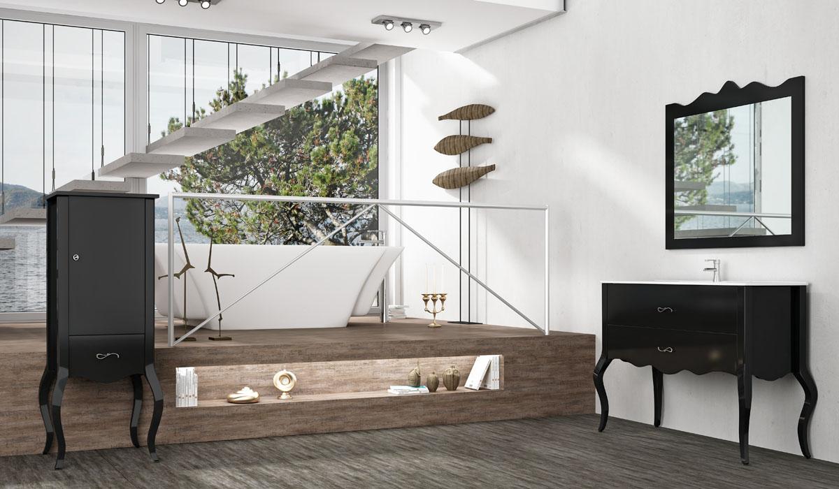 Mueble de ba o katrina materiales y accesorios louro en - Muebles en pontevedra ...